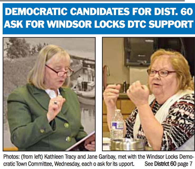 democratic candidates for CT house 60th district in the news